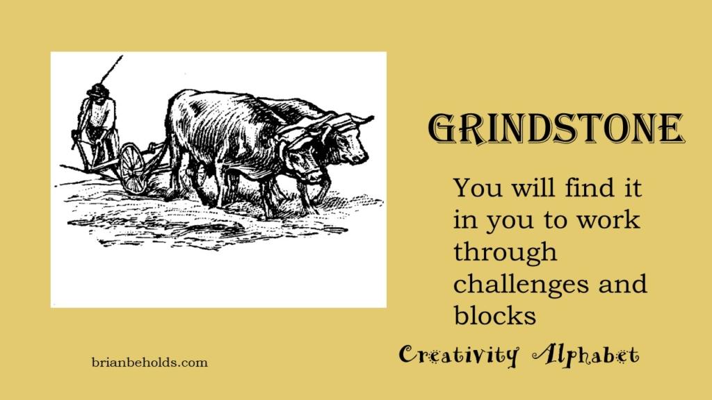 Grindstone, Creativity Alphabet