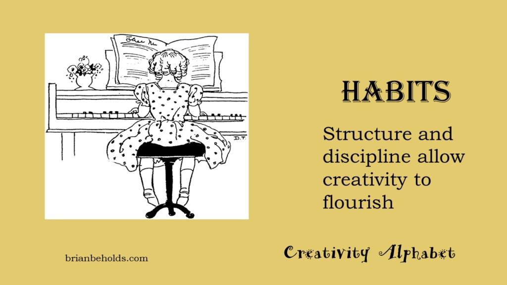 Habits, Creativity Alphabet