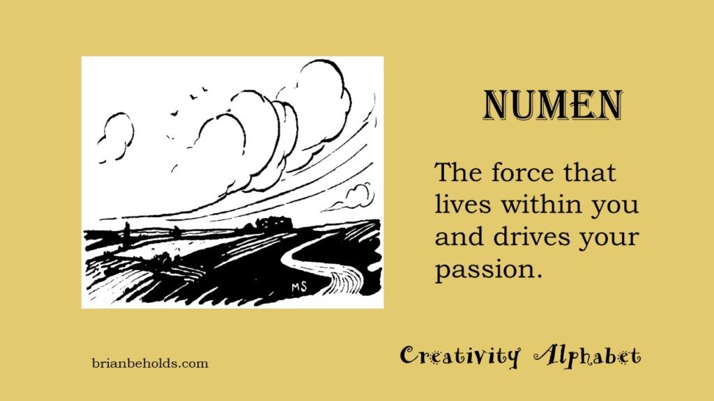 Numen, Creativity Alphabet
