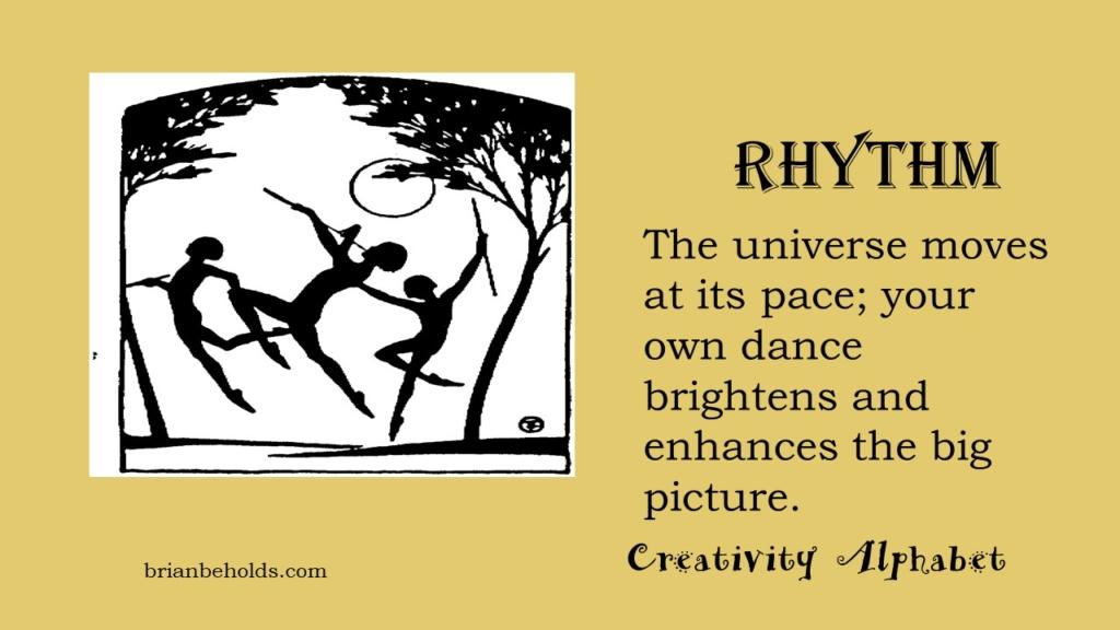 Rhythm, Creativity Alphabet