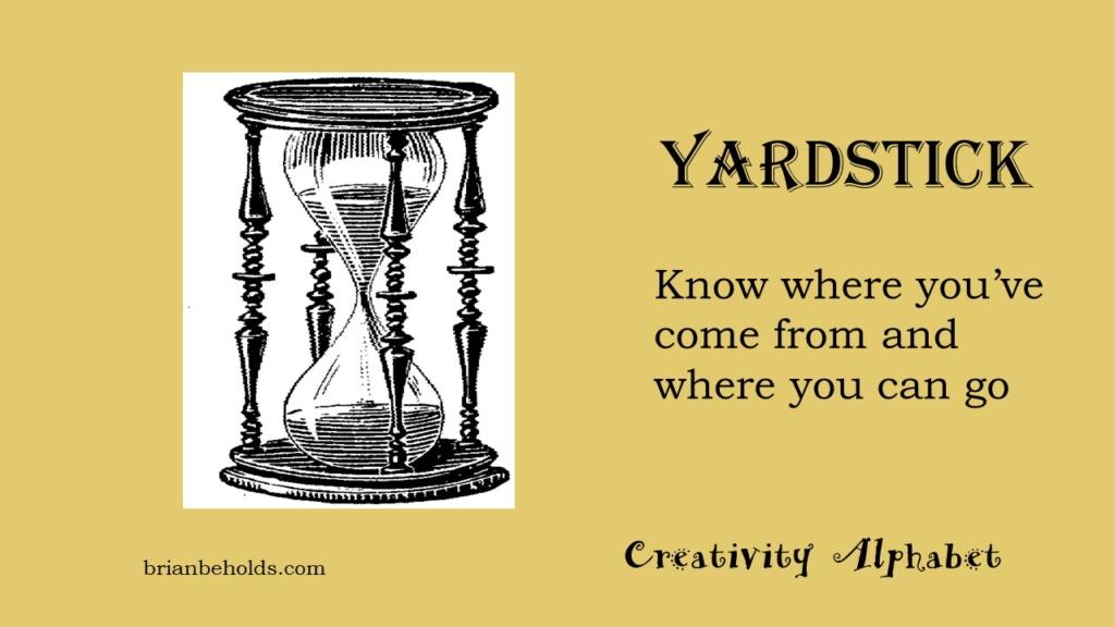 Yardstick, Creativity Alphabet
